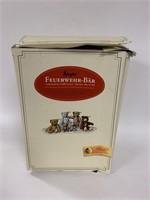 Steiff Ziegler Fireman teddy bear in box