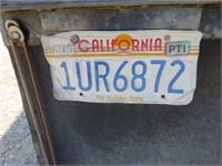 (DMV) 1980 Comet Van Trailer 8' x 28' Box Trailer
