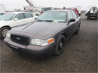 (DMV) 2007 Ford Crown Victoria Commercial Base Fle