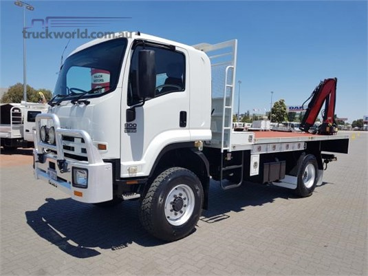 2012 Isuzu FTS 800 4x4 - Trucks for Sale