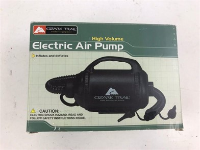 HIGH VOLUME ELECTRIC AIR PUMP Otros Artículos Para La Venta