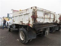 (DMV) 1995 GMC Top Kick 9' Dump Truck