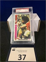 1976 Topps Julius Erving Basketball Card