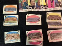 Assortment of 1959 Topps Football Cards