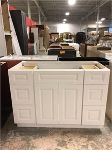 48 INCH WHITE BATHROOM VANITY Other Items For Sale - 1 ... Rain Bathroom Shower Design Gl Pebbles on