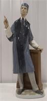 Lladro professor porcelain figurine