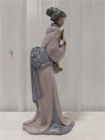 Zaphir porcelain asian girl figurine
