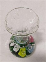 Pair of Bob St. Clair Art Glass Bud Vases
