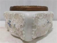 Wave Crest Square Short Dresser Bowl
