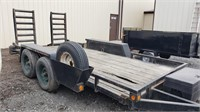 2012 Big Tex 13' Trailer with Wooden Bed and