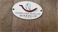 "38"" tall Tonnellerie Francaise ""Nadalie"" Wooden"