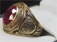 Bloomsburg State Teacher's College 10Kt Gold Ring