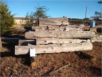 Lot (B) Surplus Juniper and Cypress Logs  $250 Reserve