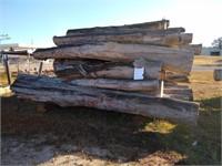 Lot (C) Surplus Juniper and Cypress Logs  $250 Reserve