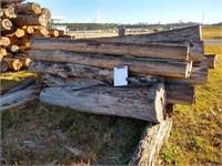 Lot (D) Surplus Juniper and Cypress Logs  $250 Reserve