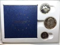 1976 BICENTENNIAL 3 COIN SILVER SET