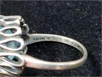 Kabana Sterling Ring, Size 8