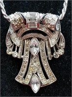 Sterling Italian Chain & Pin