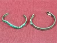 2 Sterling Bracelets