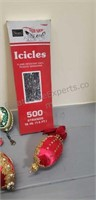 Lot of vintage Christmas decorations