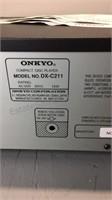 Onkyo CD Changer DX-C211(B) w Box