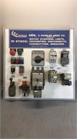 Electrical Component Display Board