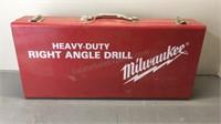 Milwaukee Right Angle Drill