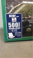 Sealed 500 Piece Puzzle Spartan Stadium
