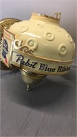 Vintage Pabst Beer Light Fixture