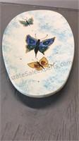 Ceramic Butterfly Platter