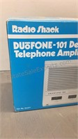 Radio Shack Duofone Telephone Amplifier