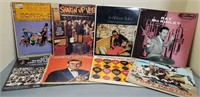 Lot of 8 various records