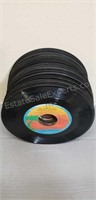 Assortment of 45s records