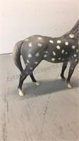 Grey Spotted Breyer Horse