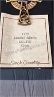 Vintage Sarah Coventry Celtic Cross Costume