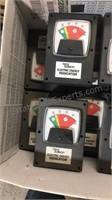 Box lot of Detroit Edison Energy Gauges