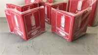 Lot of Fire Extinguisher Signs (6)
