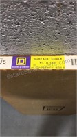 NOS Square D Surface Cover 74604