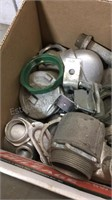 Box of Large EMT Fittings
