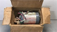 Untested Electric Motor 1/12th HP