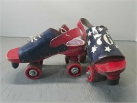 Vintage Roller Skates Size 8 Made In Italy