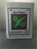 Lot of Caped Hangers in Original Box