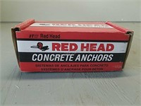 Red Head Concrete Anchors in Original Box