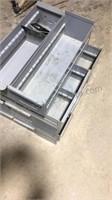 Lot of 15 Metal Organizer Drawers