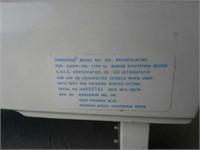Handihead Recirculating Toilet untested