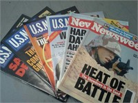 Various War Newspapers and Magazines