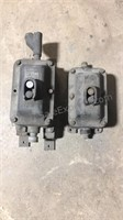Large Cast Iron Industrial Switches