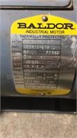 Used Untested Baldor 3/4 HP Motor
