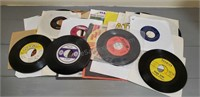 Lot of (30) 45RPM Records