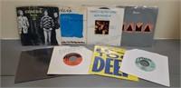 Lot of 8 Genesis 45s Records